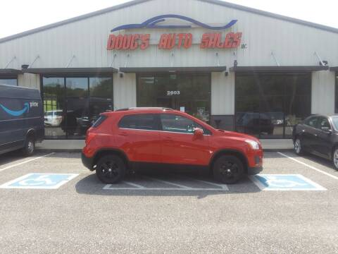 2016 Chevrolet Trax for sale at DOUG'S AUTO SALES INC in Pleasant View TN