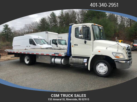 2013 Hino 258 for sale at CSM TRUCK SALES in Riverside RI