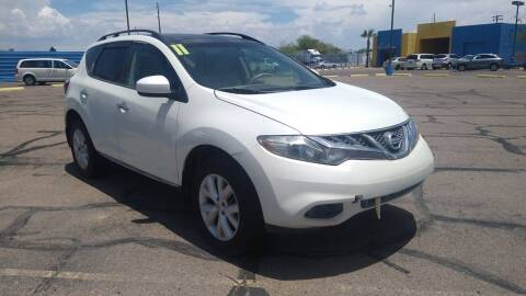 2011 Nissan Murano for sale at CAMEL MOTORS in Tucson AZ
