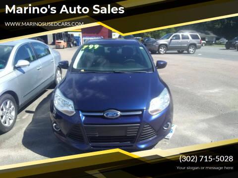 2012 Ford Focus for sale at Marino's Auto Sales in Laurel DE