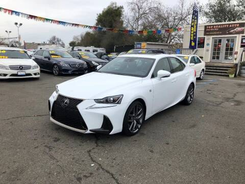 2017 Lexus IS 200t for sale at TOP QUALITY AUTO in Rancho Cordova CA