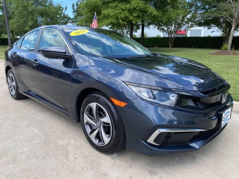 2019 Honda Civic for sale at UNITED AUTO WHOLESALERS LLC in Portsmouth VA
