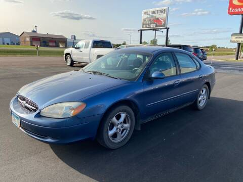 2002 Ford Taurus for sale at Hill Motors in Ortonville MN