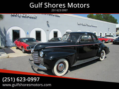 1940 Oldsmobile Eighty-Eight for sale at Gulf Shores Motors in Gulf Shores AL