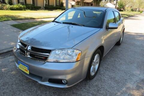 2013 Dodge Avenger for sale at Amazon Autos in Houston TX