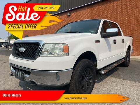 2006 Ford F-150 for sale at Boise Motorz in Boise ID
