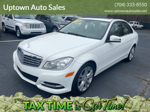 2013 Mercedes-Benz C-Class for sale at Uptown Auto Sales in Charlotte NC