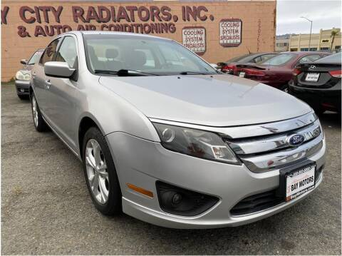 2012 Ford Fusion for sale at SF Bay Motors in Daly City CA