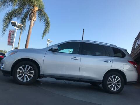 2016 Nissan Pathfinder for sale at CARSTER in Huntington Beach CA