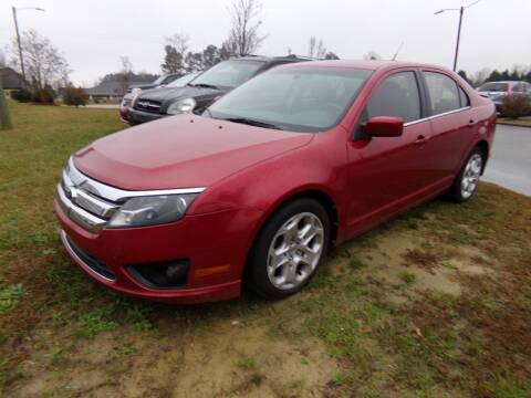 2011 Ford Fusion for sale at Creech Auto Sales in Garner NC