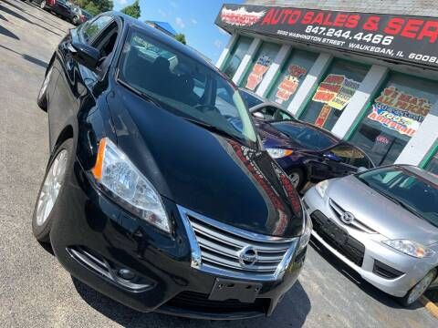 2013 Nissan Sentra for sale at Washington Auto Group in Waukegan IL