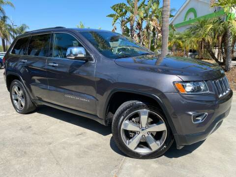 2015 Jeep Grand Cherokee for sale at Luxury Auto Lounge in Costa Mesa CA