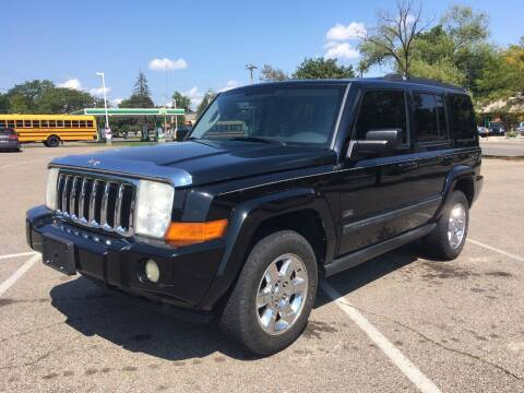 2007 Jeep Commander for sale at Borderline Auto Sales in Loveland OH