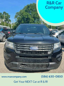 2016 Ford Explorer for sale at R&R Car Company in Mount Clemens MI