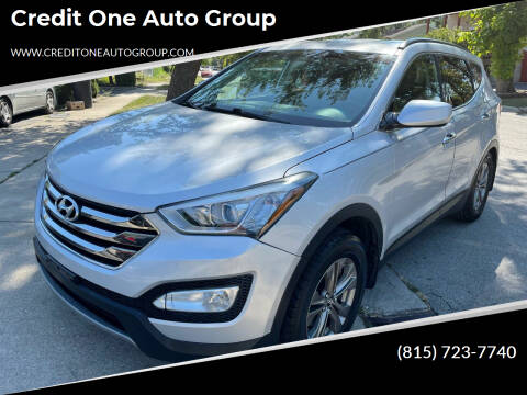 2013 Hyundai Santa Fe Sport for sale at Credit One Auto Group in Joliet IL