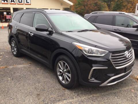 2017 Hyundai Santa Fe for sale at Motuzas Automotive Inc. in Upton MA