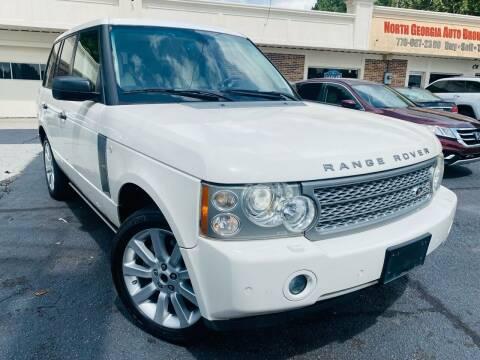 2008 Land Rover Range Rover for sale at North Georgia Auto Brokers in Snellville GA