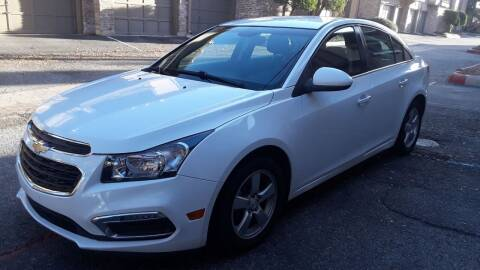 2015 Chevrolet Cruze for sale at RICKY'S AUTOPLEX in San Antonio TX