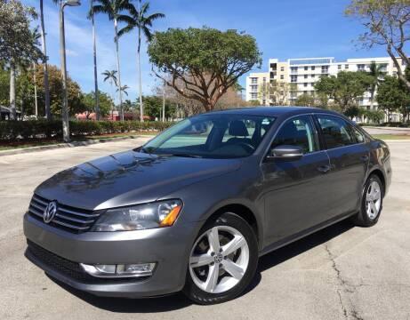 2015 Volkswagen Passat for sale at FIRST FLORIDA MOTOR SPORTS in Pompano Beach FL
