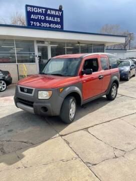 2003 Honda Element for sale at Right Away Auto Sales in Colorado Springs CO