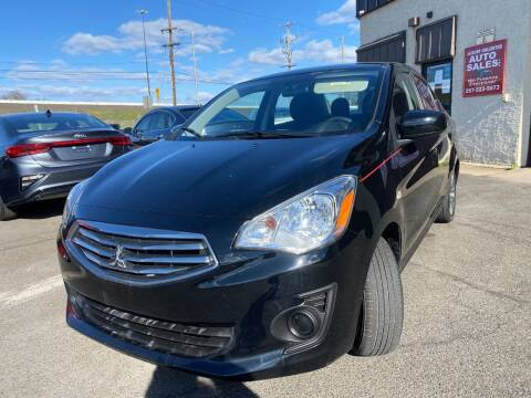 2019 Mitsubishi Mirage G4 for sale at Luxury Unlimited Auto Sales Inc. in Trevose PA