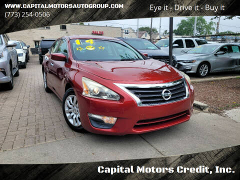 2014 Nissan Altima for sale at Capital Motors Credit, Inc. in Chicago IL