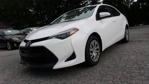 2018 Toyota Corolla for sale at NORCROSS MOTORSPORTS in Norcross GA