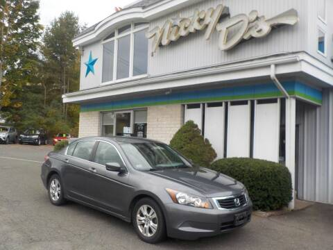 2008 Honda Accord for sale at Nicky D's in Easthampton MA