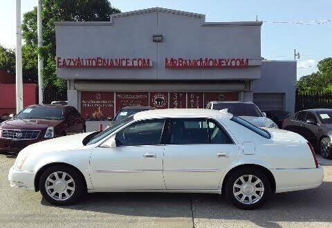 2010 Cadillac DTS for sale at Eazy Auto Finance in Dallas TX