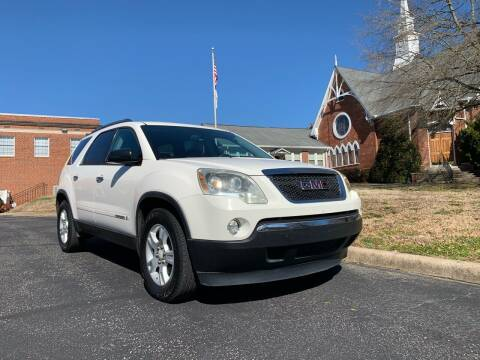 2007 GMC Acadia for sale at Automax of Eden in Eden NC