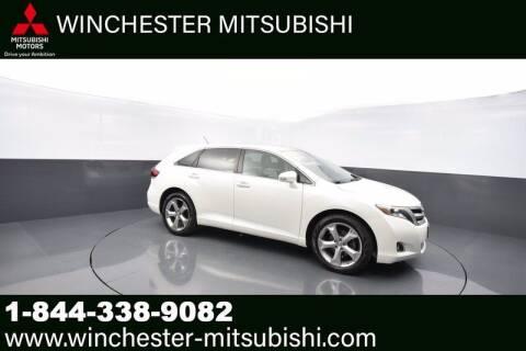 2013 Toyota Venza for sale at Winchester Mitsubishi in Winchester VA