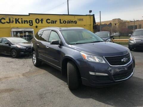 2013 Chevrolet Traverse for sale at Cj king of car loans/JJ's Best Auto Sales in Troy MI
