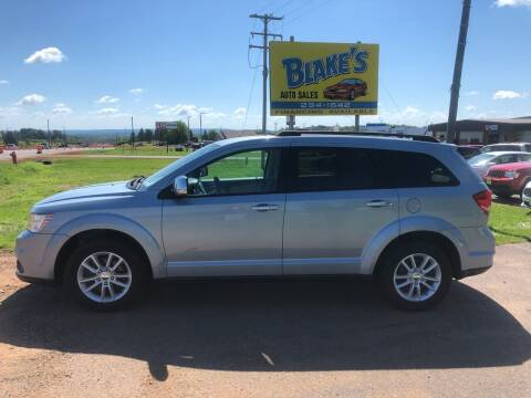 2013 Dodge Journey for sale at Blakes Auto Sales in Rice Lake WI