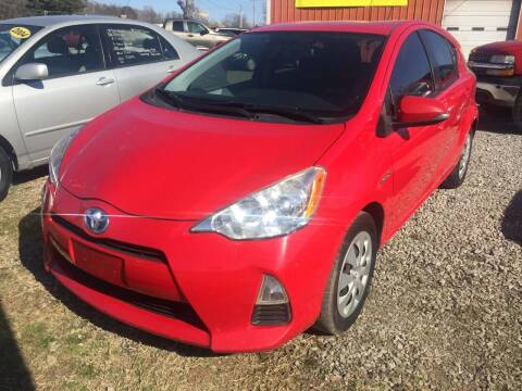 2012 Toyota Prius c for sale at McAllister's Auto Sales LLC in Van Buren AR
