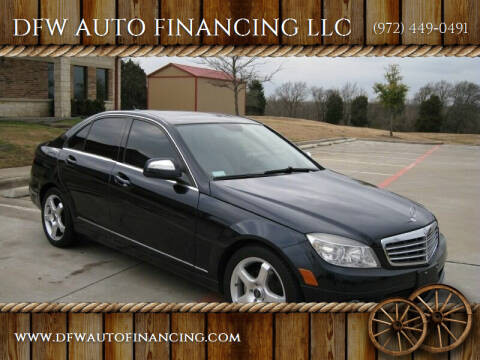 2009 Mercedes-Benz 300-Class for sale at DFW AUTO FINANCING LLC in Dallas TX