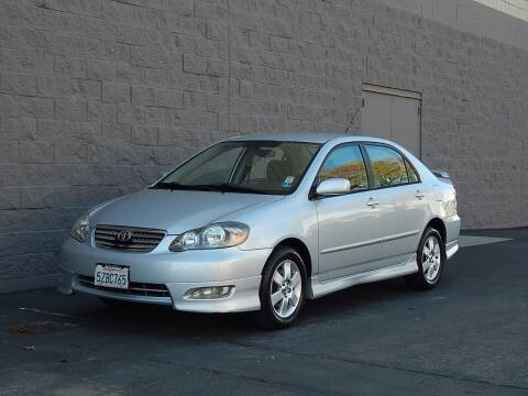 2007 Toyota Corolla for sale at Gilroy Motorsports in Gilroy CA