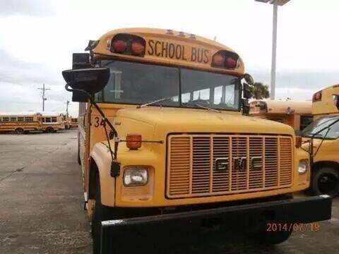 1995 GMC BLUE BIRD for sale at Interstate Bus Sales Inc. in Wallisville TX