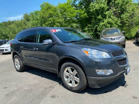 2012 Chevrolet Traverse for sale at Royal Crest Motors in Haverhill MA