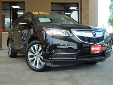 2014 Acura MDX for sale at Arandas Auto Sales in Milwaukee WI