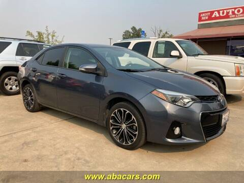 2015 Toyota Corolla for sale at About New Auto Sales in Lincoln CA