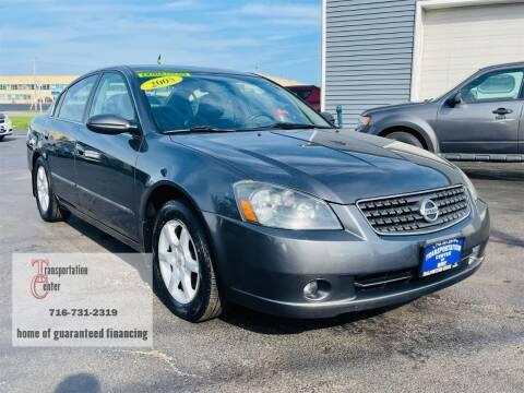2005 Nissan Altima for sale at Transportation Center Of Western New York in Niagara Falls NY