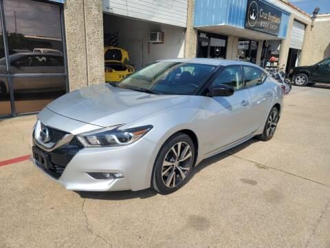 2016 Nissan Maxima for sale at A & J Enterprises in Dallas TX