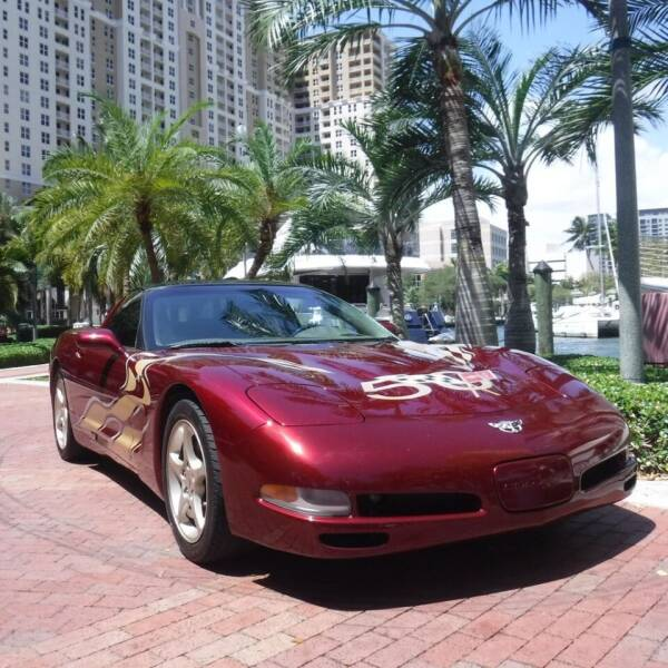 2003 Chevrolet Corvette for sale at Choice Auto in Fort Lauderdale FL