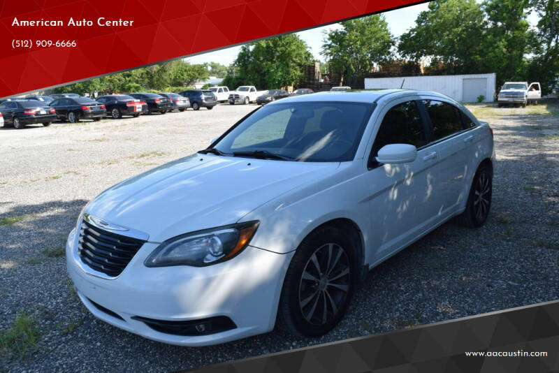 2011 Chrysler 200 for sale at American Auto Center in Austin TX