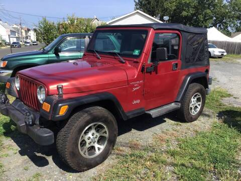 1999 Jeep Wrangler for sale at Bromax Auto Sales in South River NJ