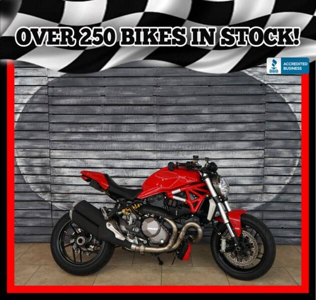 2018 Ducati Monster for sale at Motomaxcycles.com in Mesa AZ