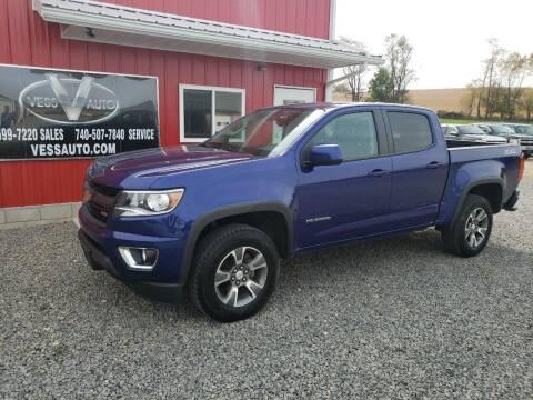 2017 Chevrolet Colorado for sale at Vess Auto in Danville OH