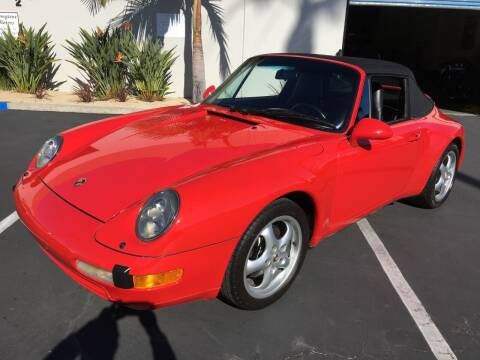 1997 Porsche 911 for sale at MANGIONE MOTORS ORANGE COUNTY in Costa Mesa CA