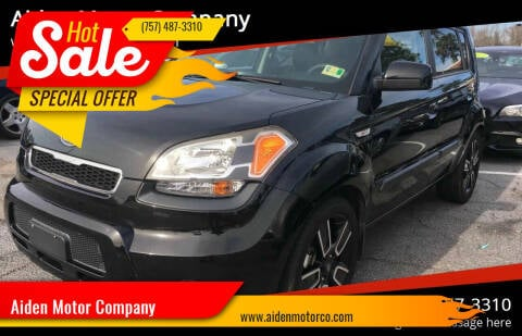 2010 Kia Soul for sale at Aiden Motor Company in Portsmouth VA