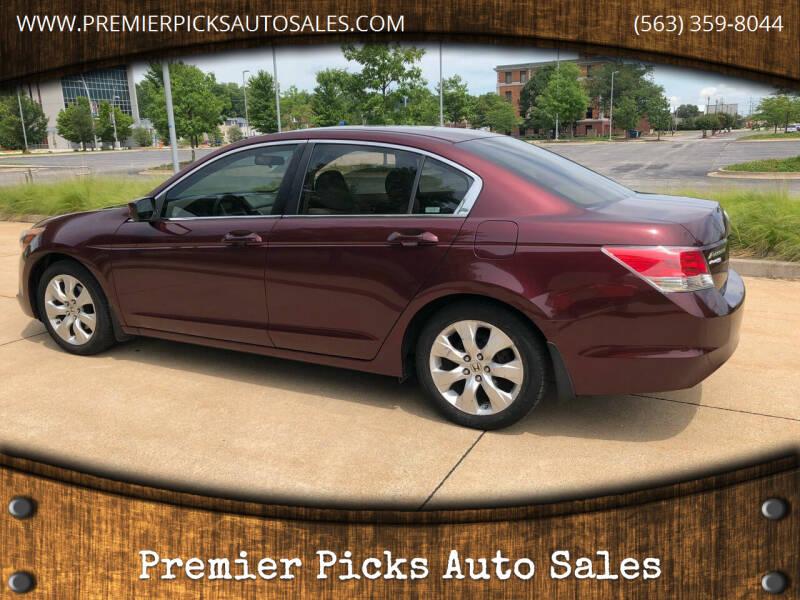 2008 Honda Accord for sale at Premier Picks Auto Sales in Bettendorf IA